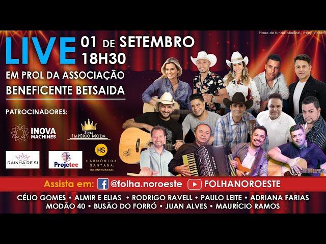 Live Folha Noroeste