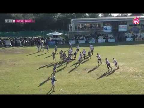 Rugby le ROC VS RC Tricastin