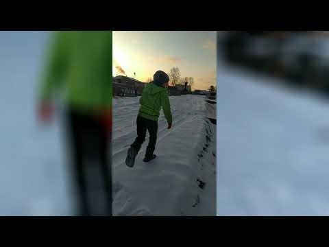 Бег по снегу