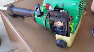 Weedeater featherlite 2 cycle gas trimmer won't start diagnosis