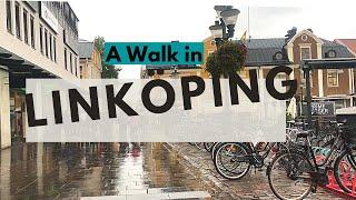 Linköping Sweden, Central station - City center