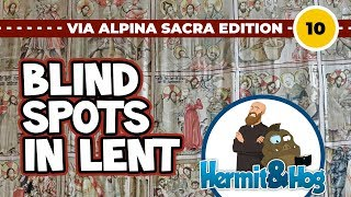 Lent: seeing better through hiding things. Gurk and the largest lenten veil of the alps