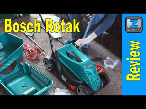 How To Replace Change Blade Of Bosch Rotak Cordless