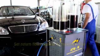 MERCEDES W220 S-CLASS AUTOMATIC TRANSMISSION Fluid an Filter Change