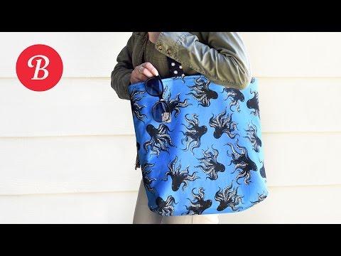 DIY Reversible Tote Bag   Sew-It-Yourself