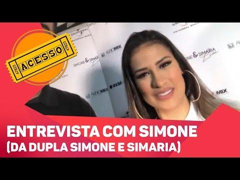 Entrevista com Simone - TV SOROCABA/SBT