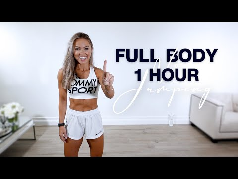 1 Hour FULL BODY WORKOUT at Home | No Equipment + No Jumping