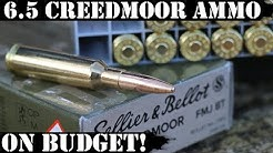 Ammo on Budget: 6.5 Creedmoor Sellier & Bellot