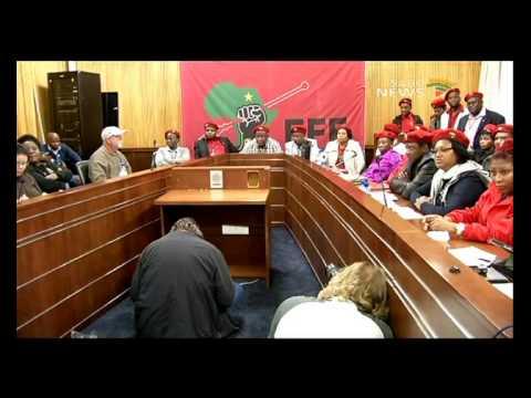 EFF's parliamentary agenda