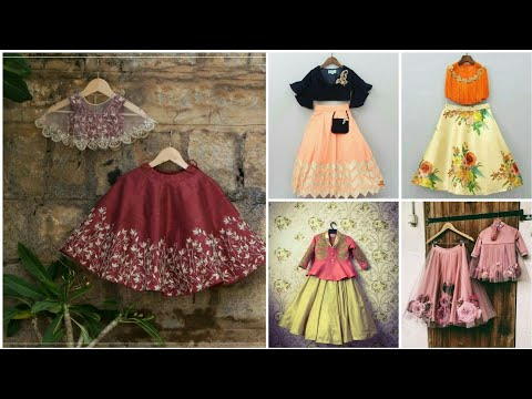 Latest Kids lehengas designs| baby girl lehngas designs - Crazy about Fashion
