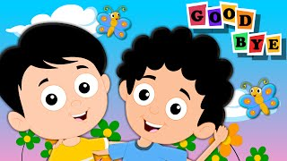 Goodbye Song | Original Nursery Rhymes For Kids And Baby | Songs For Childrens