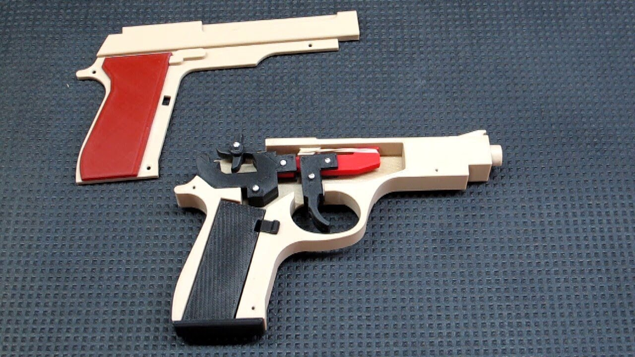 3d printed guns how do they work
