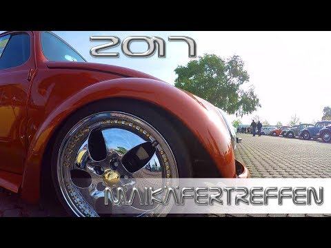 Maikäfertreffen 2017 Hannover - largest VW Beetle meeting in Germany