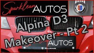 Filthy BMW Alpina D3 gets Garage Therapy Pt 2 #filthy #bmw #garagetherapy