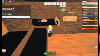 [Roblox] work At A Pizza Place. The EPIC crash!