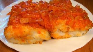 Рыба жареная под маринадом