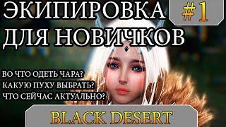 Black Desert - Гайд - Путь НОВИЧКА и ВО ЧТО ОДЕТЬСЯ на начало 2020 года! Разбираем ДЕТАЛЬНО! #1