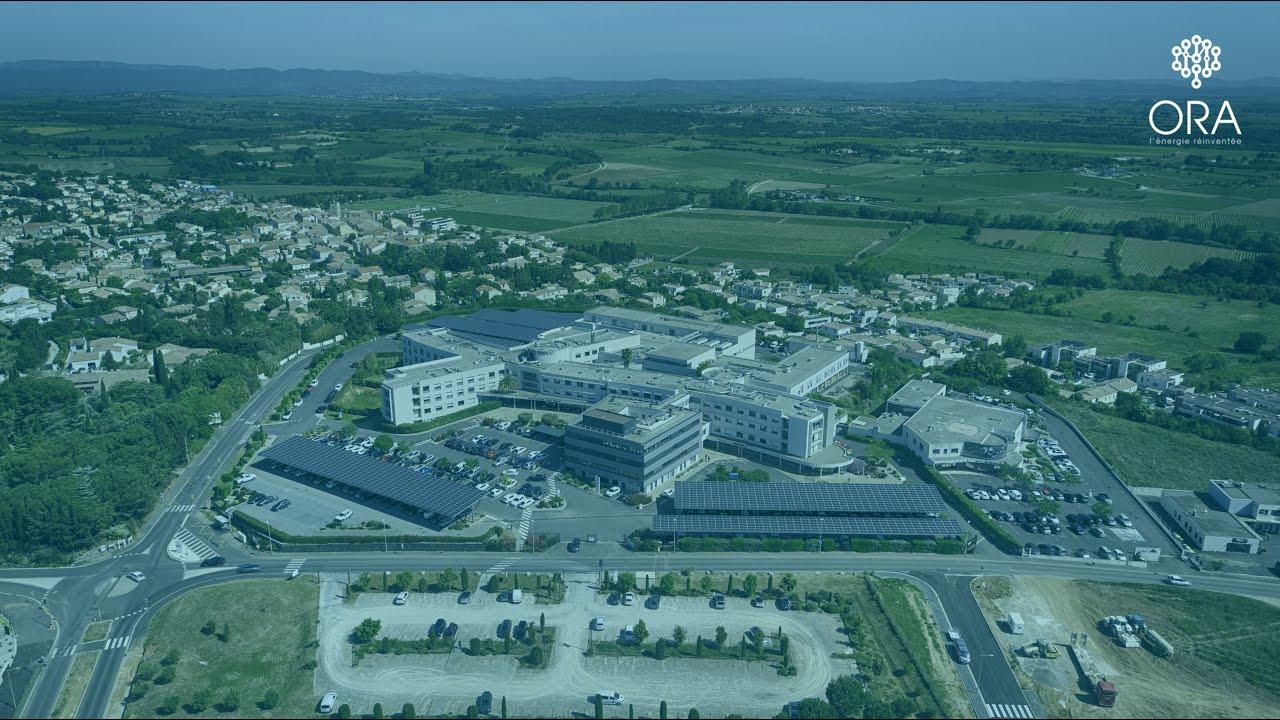 Mise en service de la 1ère Polyclinique d'Occitanie équipée d'une centrale photovoltaïque