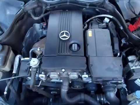 M18678 W203 C180K M271.946 1.8S 4CYL AUTO 2007 ENGINE TESTING