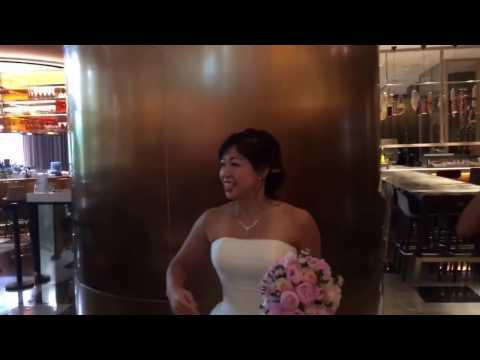 Alvena & Calvin wedding 3 - more hotel lobby before solemnization