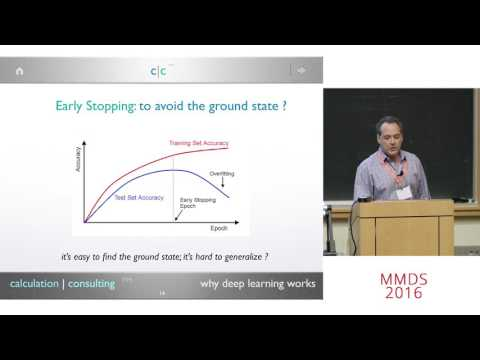 Why Deep Learning Works: Perspectives from Theoretical Chemistry, Charles Martin