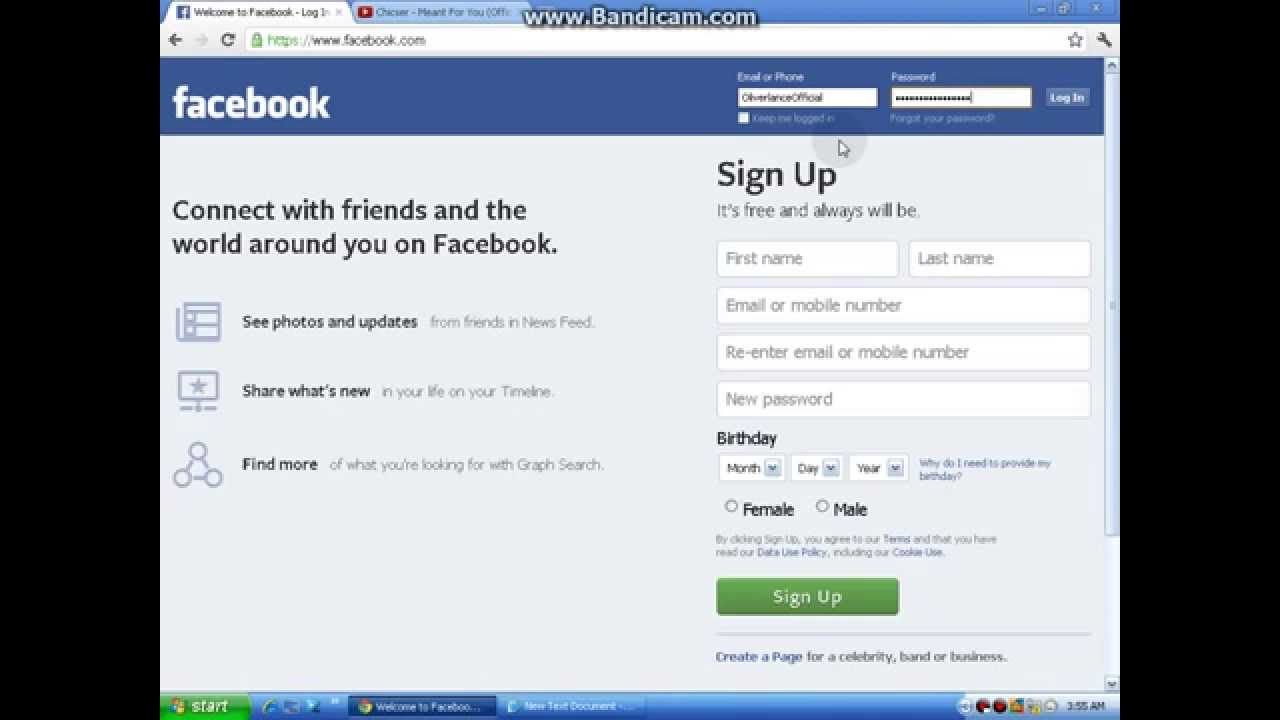How to Unlock Facebook account 2014