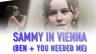 Sammy sings Ben & You Needed Me (Medley, live in Vienna 2019)