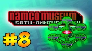 """Namco Museum 50th Anniversary Challenge - #8 - """"BOSCONIAN!"""" (Gameplay/Let"""