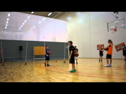 Basketball Fundamentals for Kids  More on Ball handling  Paul Burke  Norrköping Dolphins Clinic