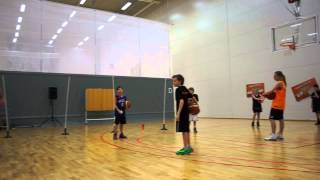 Basketball Fundamentals for Kids - More on Ball handling - Paul Burke - Norrköping Dolphins Clinic