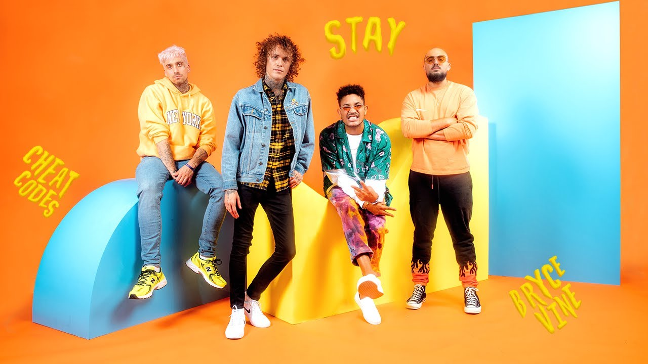 Cheat Codes x Bryce Vine - Stay [Official Lyric Video]