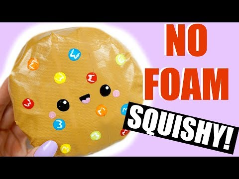 DIY DUCT TAPE SQUISHY? | How to make a squishy without foam