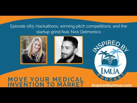 063 Hackathons, winning pitch competitions, and the startup grind feat  Nick Delmonico