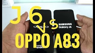 J6 SPEED TEST WITH OPPO A83  | who wins | 💥💥💥💥