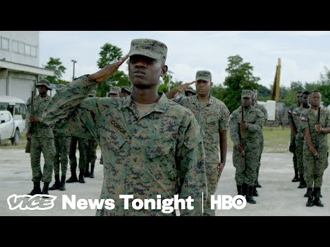 Haiti's Army Is Making A Comeback 20 Years After Disbanding (HBO)