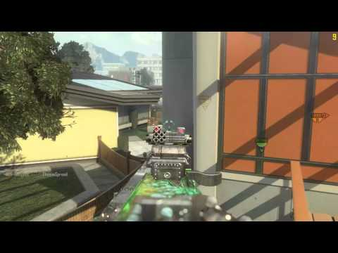 Breaking The Law!!, Call Of Duty Black Ops II PC Prone Dive Mid Air Kill!