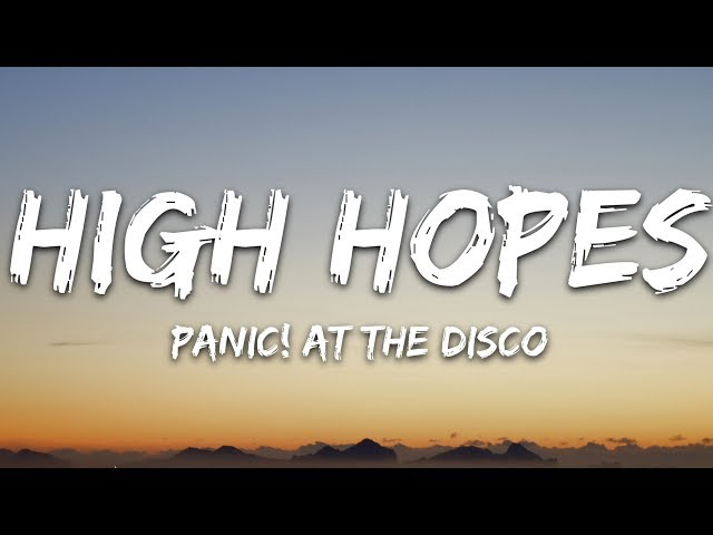 High Hopes MP3 Download 320kbps