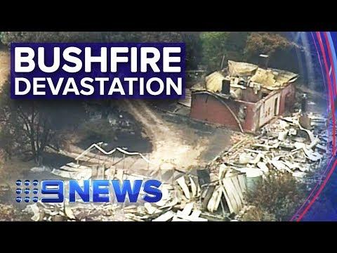 Dangerous fire conditions to worsen in Adelaide Hills   Nine News Australia