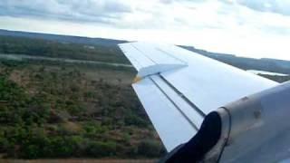 Decolagem Embraer EMB-120 Brasilia de Palmas (SBPJ) - Sete Linhas Aéreas