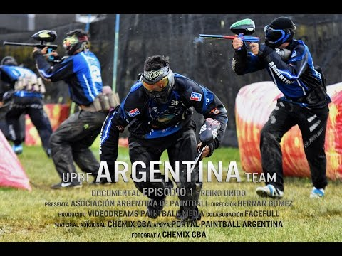 UPBF ARGENTINA Paintball Team - Episodio 1 Reino Unido Documental