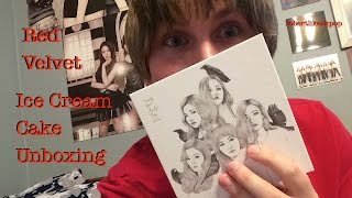"UNBOXING: Red Velvet 1st Mini Album ""Ice Cream Cake"" (Automatic Version) CD+Poster"