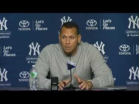 Alex Rodriguez on passing Willie Mays on the all-time HR list