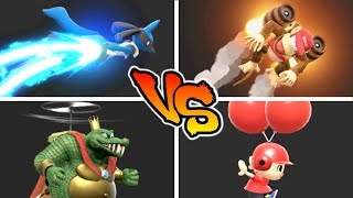 Super Smash Bros. Ultimate - Who has the Best Recovery?