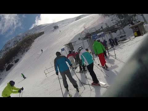 """New 2016 Mt Buller Family Skiing Holiday"""