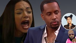 Erica Mena Dumps Safaree After Finding Text Confirming He Is Still Seeing Nicki Minaj!