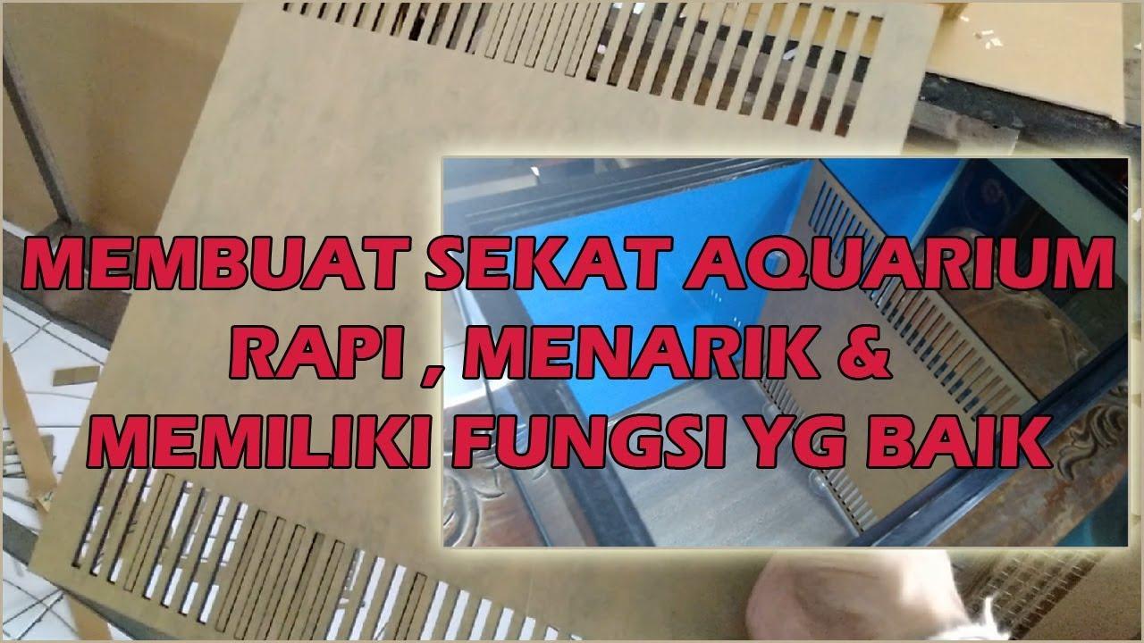 Membuat Sekat Aquarium Murah Dan Rapi Youtube Cara membuat sekat aquarium