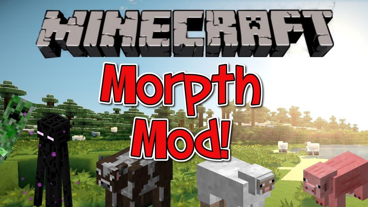 Minecraft morphing mod [1. 6. 2] deutsch [vorstellung+installation.