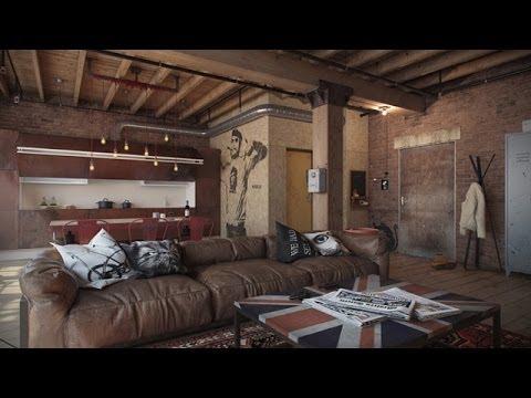 Den Loft | Interior Design By. Nordes - YouTube