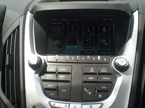 How To: Program Your Radio in 2015 Chevy Equinox ...