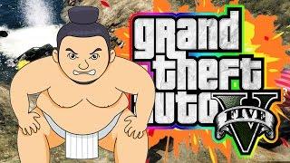 GTA V Sumo! (Funny Moments 4)